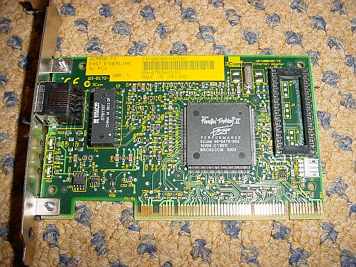 Picture of 3COM Etherlink 3C905b-TX