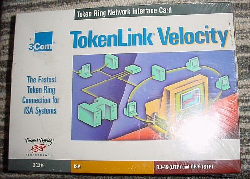 Picture of 3COM 3C319 ISA Token Ring 16 Mbps Token Velocity