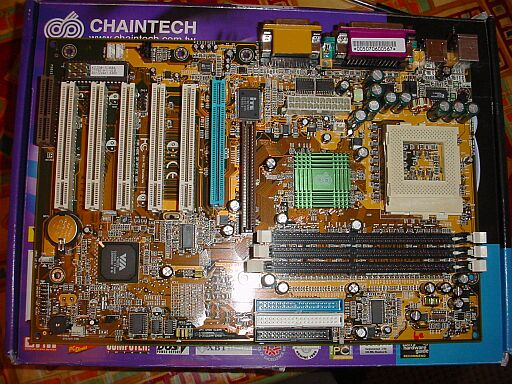 Picture of Chaintech 6VJD Via Pro266 DDR S370 tot 1.2GHz Sound RETAIL