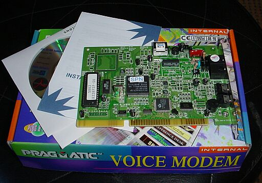 Picture of Rockwell Hardware 33K6 Voice modem ISA 16 bits
