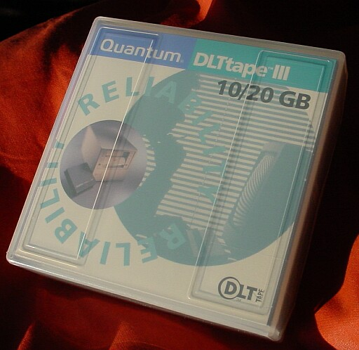 Picture of Quantum DLT3 10/20 GB Tape