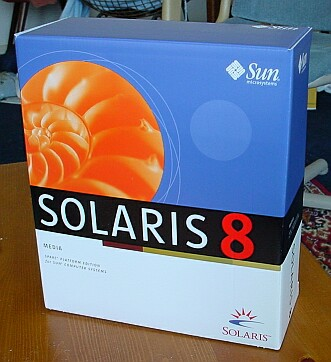 Picture of Sun Solaris 8 Sun Sparc Edition Retail Boxed