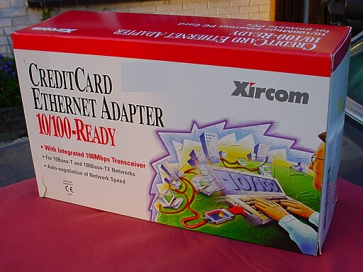Picture of Xircom 100 MBit PC-Card
